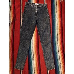 """American Apparel High Waisted Skinny """"Jeans"""""""